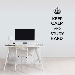 keep calm and study